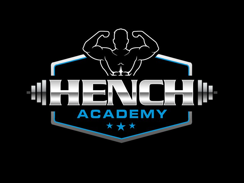 Hench Academy logo design by kunejo