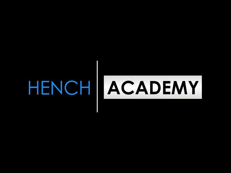 Hench Academy logo design by giphone