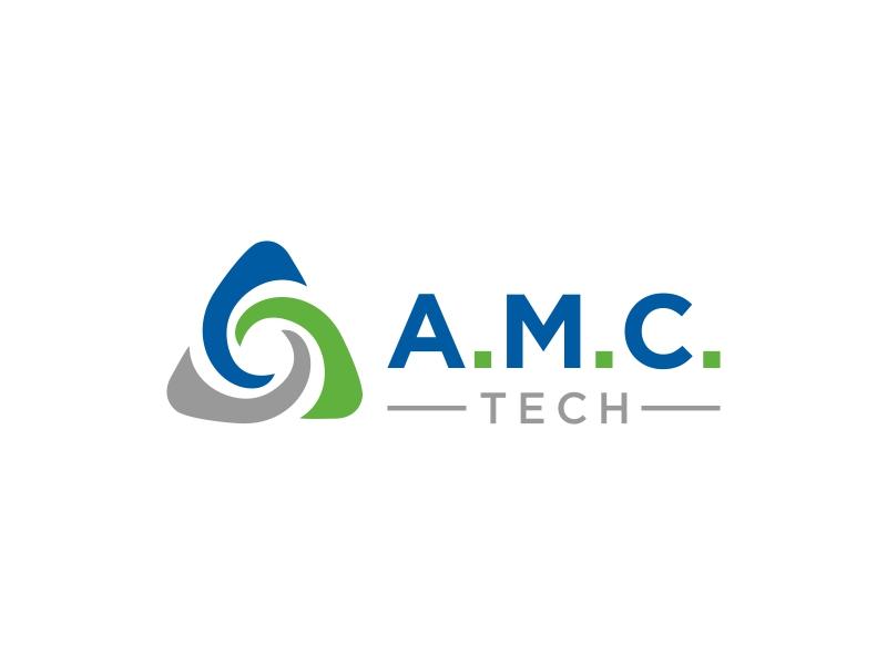 A.M.C.  TECH. logo design by luckyprasetyo
