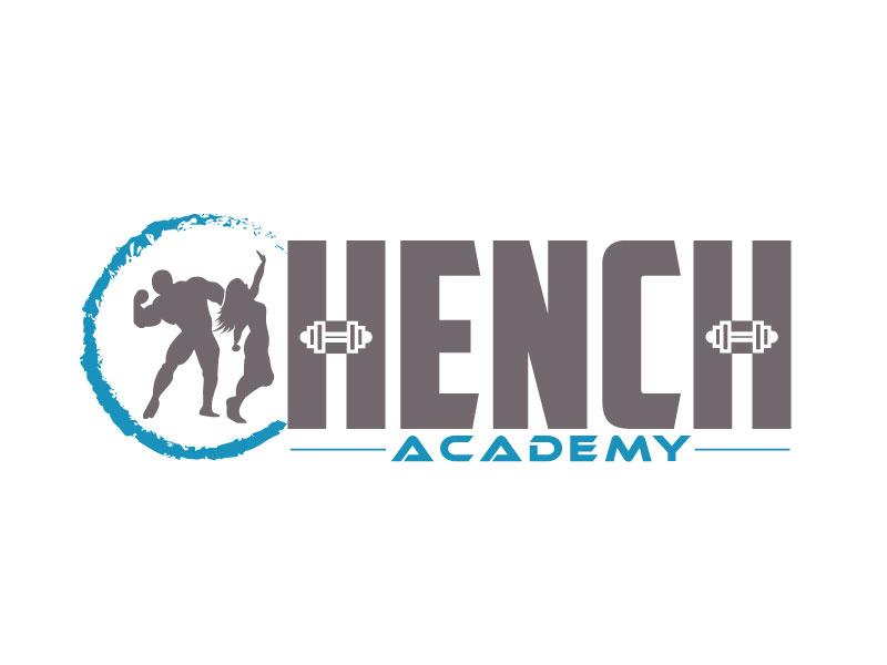 Hench Academy logo design by ElonStark