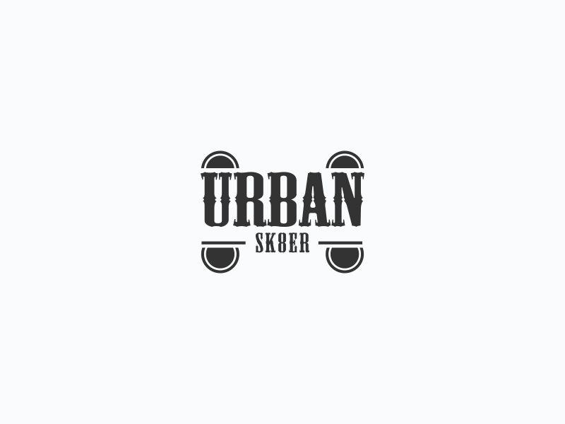 Urban Sk8er logo design by Orino