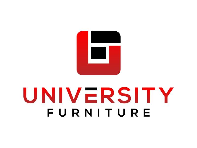 University Furniture logo design by cintoko