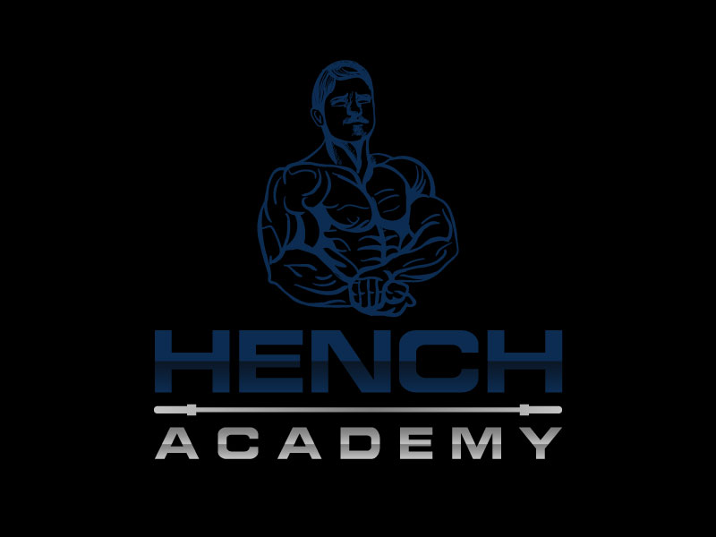 Hench Academy logo design by aryamaity