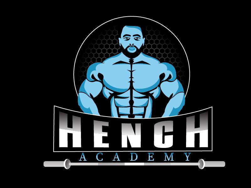 Hench Academy logo design by Shailesh