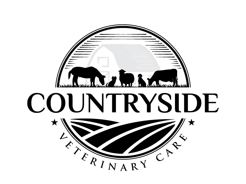 Countryside Veterinary Care logo design by Creativeminds
