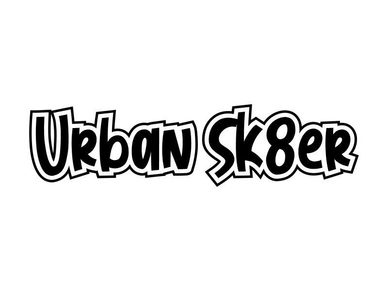 Urban Sk8er logo design by Gwerth