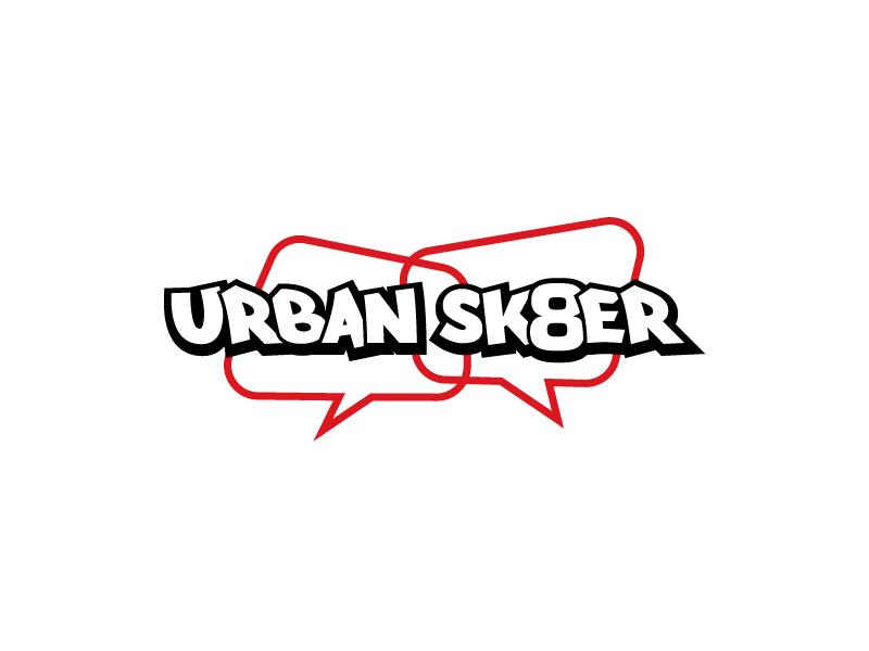 Urban Sk8er logo design by sakarep