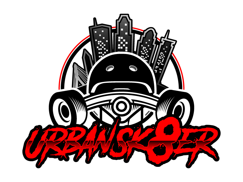 Urban Sk8er logo design by daywalker