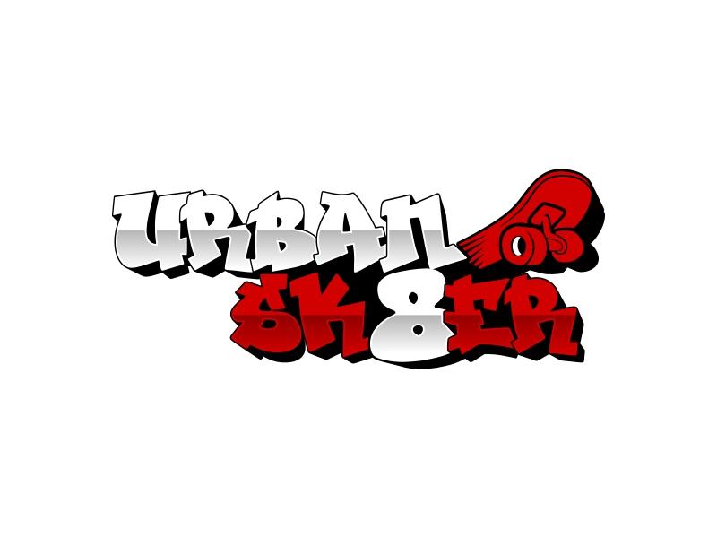 Urban Sk8er logo design by rizuki