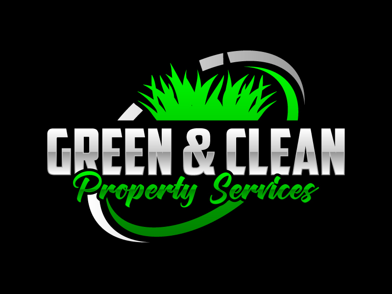 Green and Clean Property Services logo design by LogOExperT
