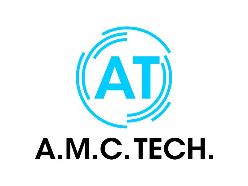 A.M.C.  TECH. logo design by Toraja_@rt