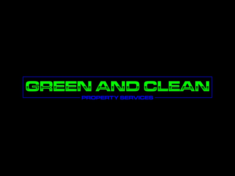 Green and Clean Property Services logo design by luckyprasetyo