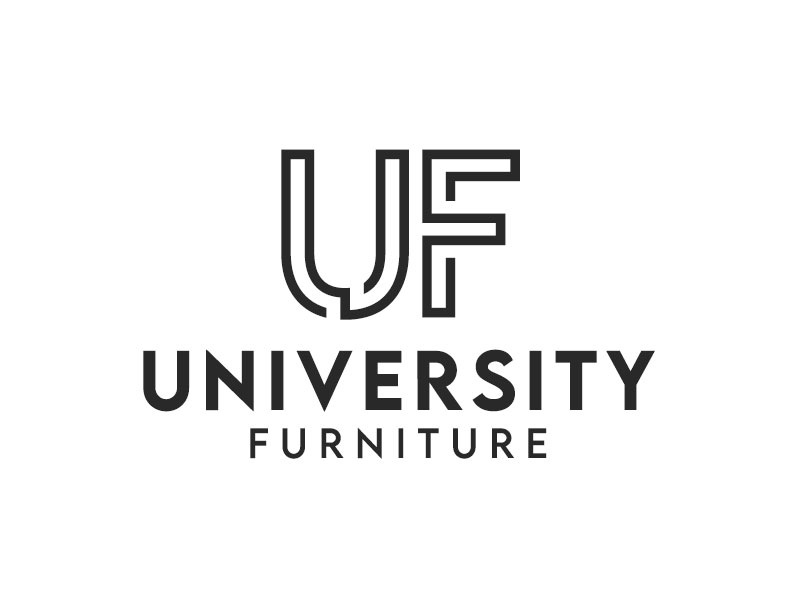 University Furniture logo design by kunejo
