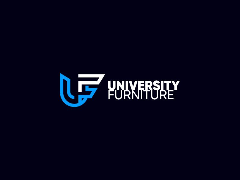 University Furniture logo design by skymaya
