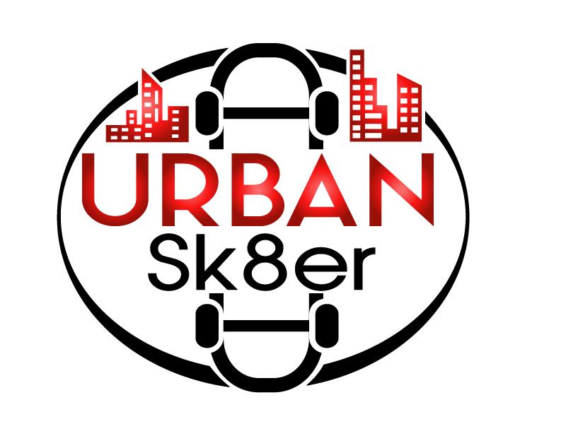 Urban Sk8er logo design by PMG