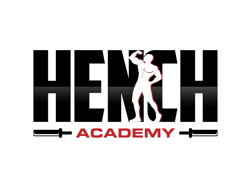 Hench Academy logo design by MUSANG