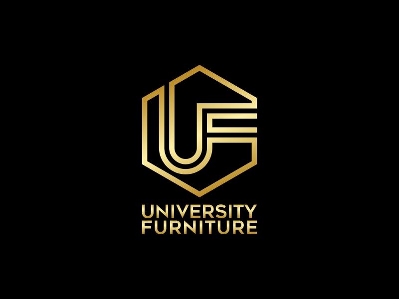 University Furniture logo design by ekitessar