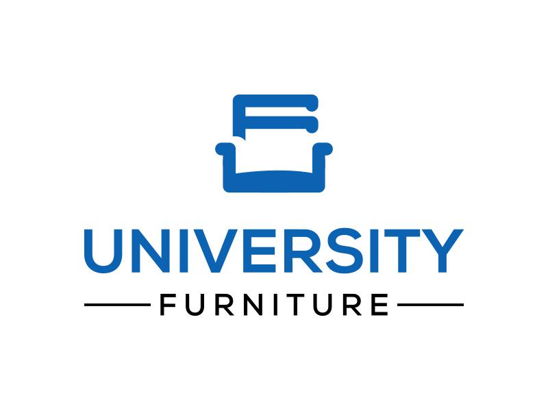 University Furniture logo design by keylogo
