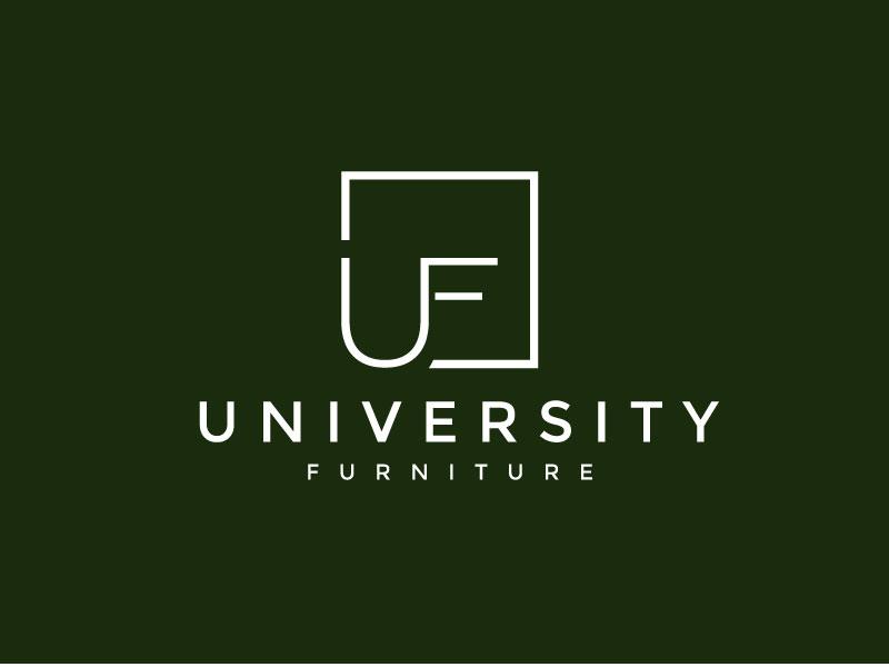 University Furniture logo design by REDCROW