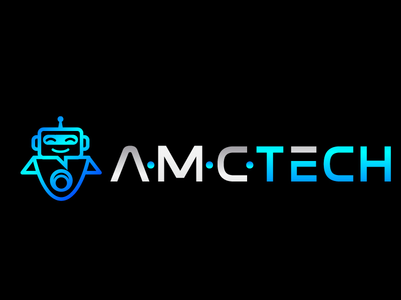 A.M.C.  TECH. logo design by jaize