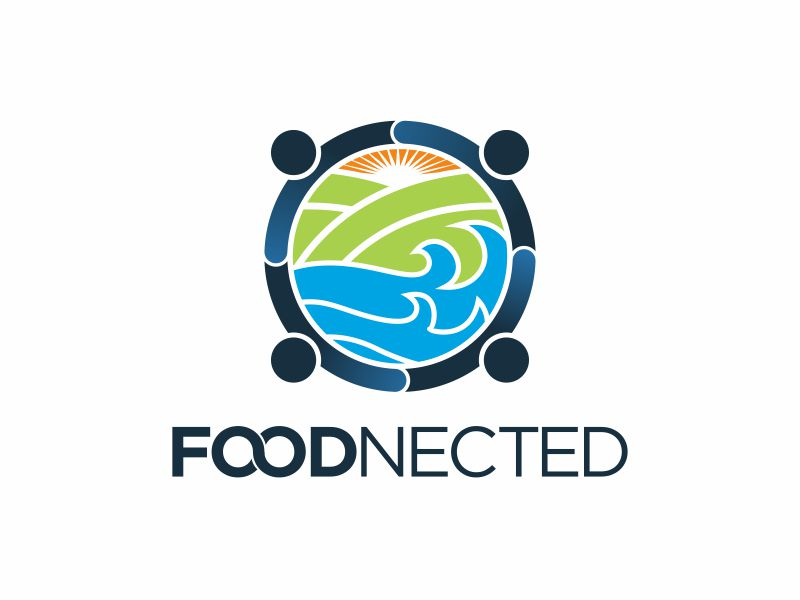 Foodnected logo design by agus