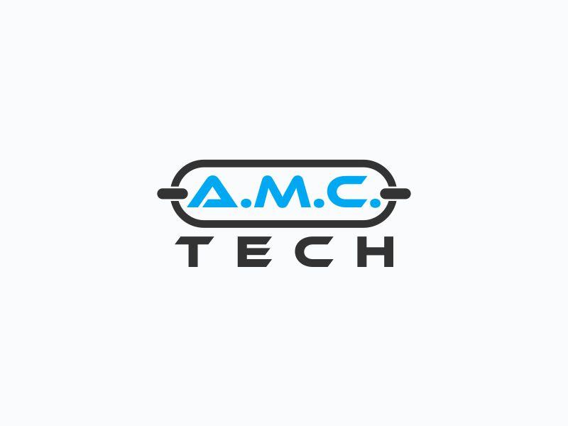 A.M.C.  TECH. logo design by Orino
