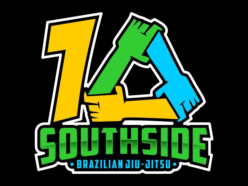 SOUTHSIDE BRAZILIAN JIU-JITSU logo design by Gwerth