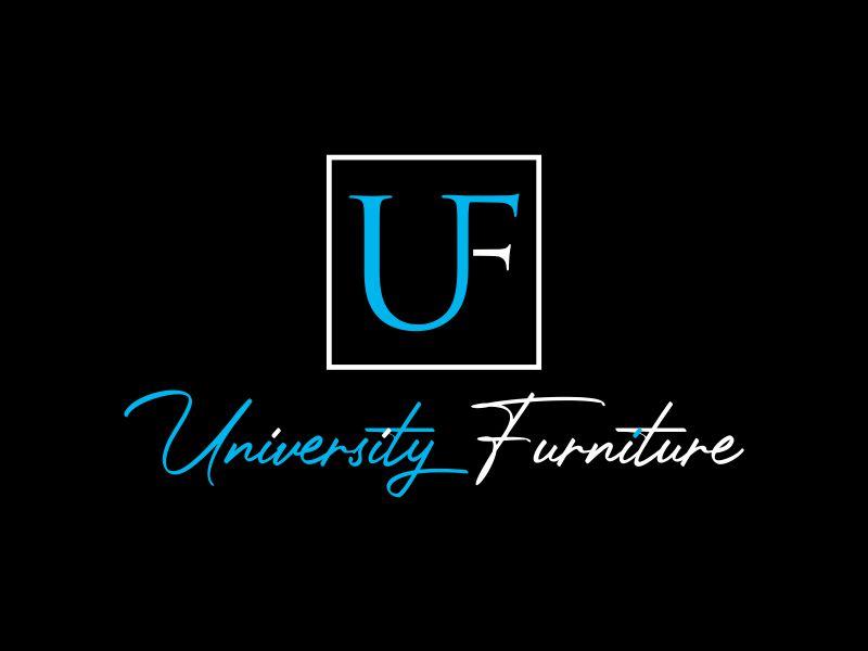 University Furniture logo design by giphone