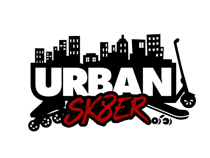 Urban Sk8er logo design by jaize