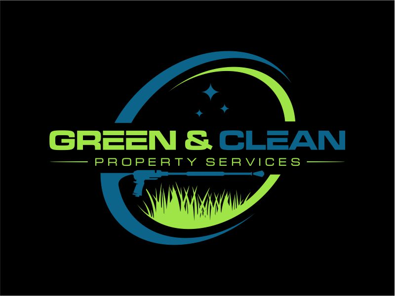 Green and Clean Property Services logo design by ARTdesign