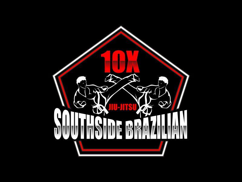 SOUTHSIDE BRAZILIAN JIU-JITSU logo design by giphone