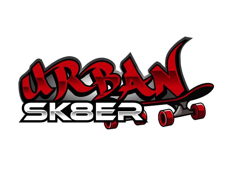 Urban Sk8er logo design by axel182
