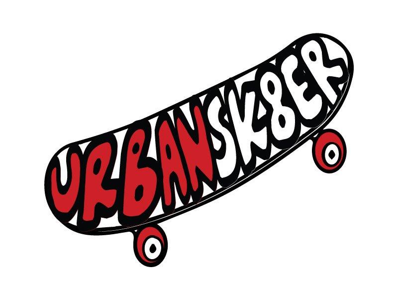 Urban Sk8er logo design by Sh RT