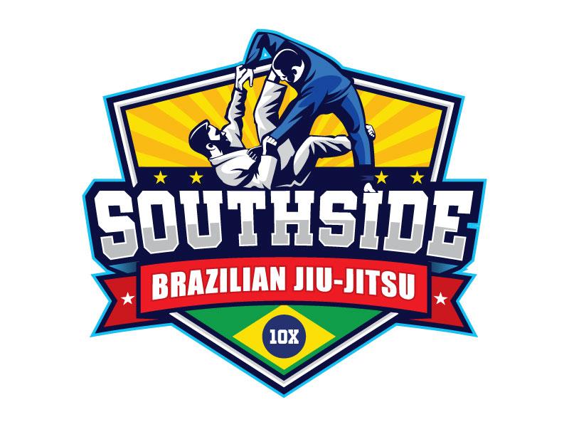 SOUTHSIDE BRAZILIAN JIU-JITSU logo design by invento