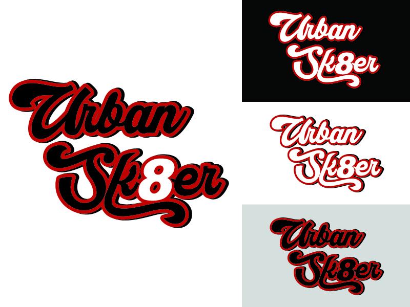 Urban Sk8er logo design by Arrizal Taufiq N