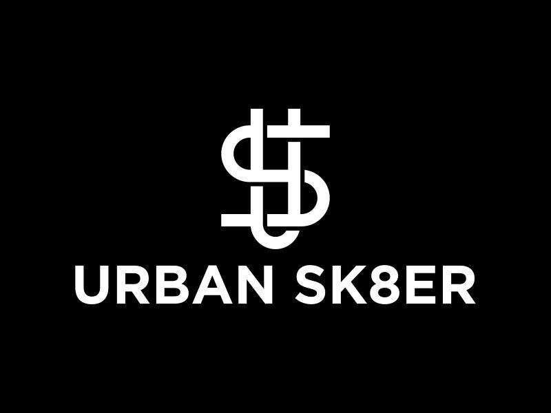 Urban Sk8er logo design by Galfine