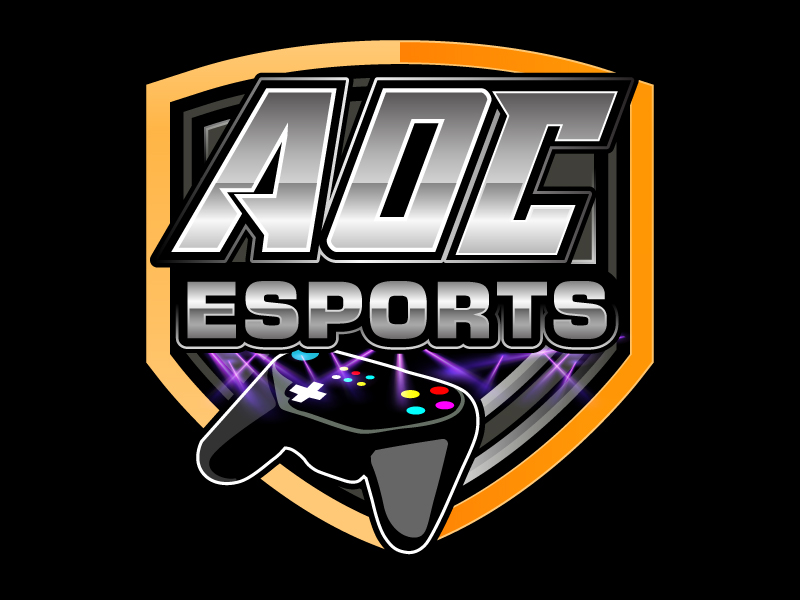 AoE Esports logo design by Suvendu