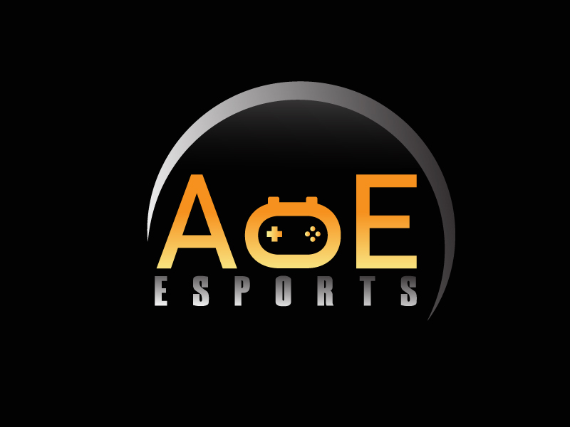 AoE Esports logo design by Shailesh