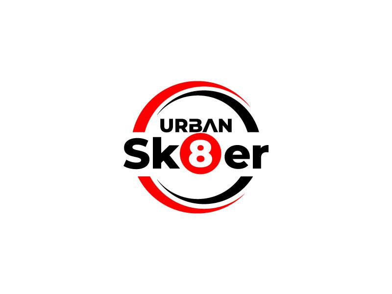 Urban Sk8er logo design by zinnia