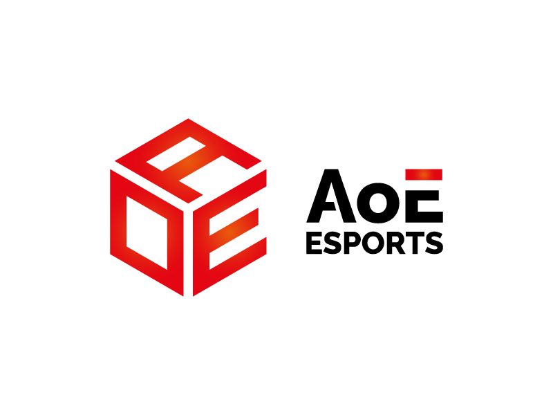 AoE Esports logo design by Mezzala