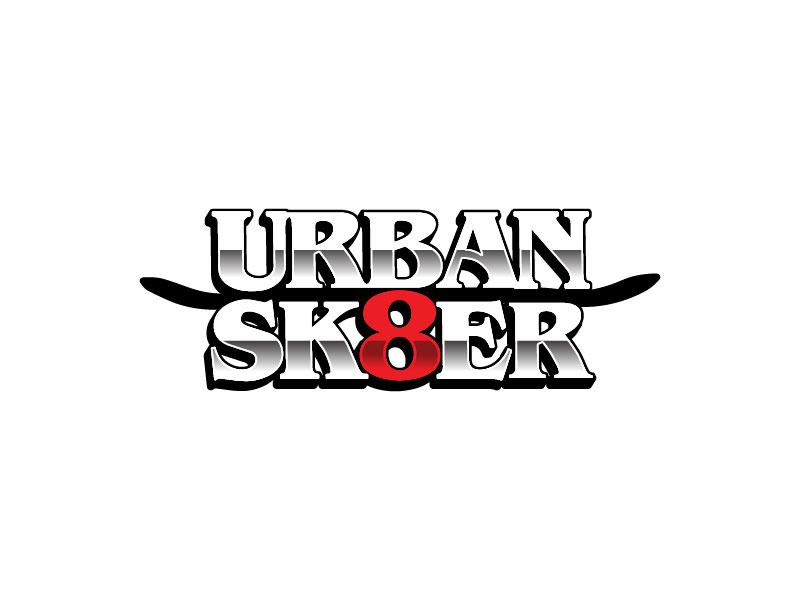 Urban Sk8er logo design by japon