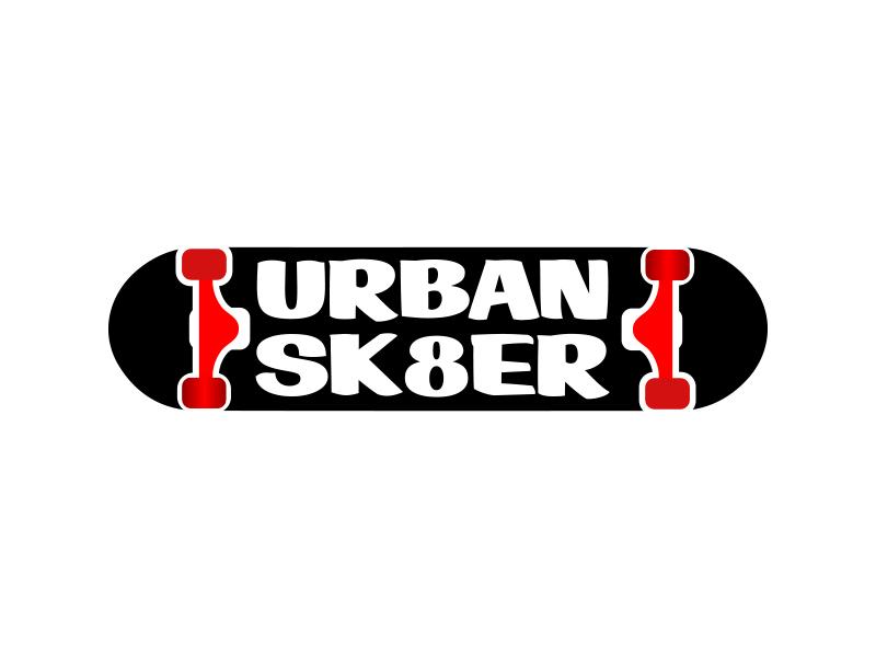 Urban Sk8er logo design by keylogo