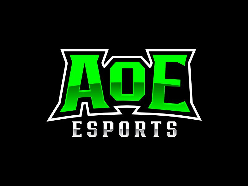 AoE Esports logo design by keylogo