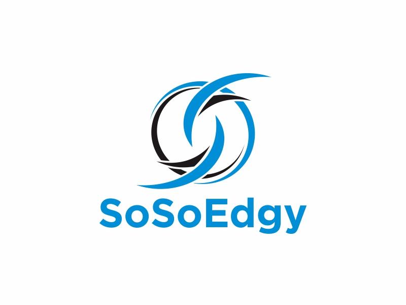 SoSoEdgy logo design by Greenlight