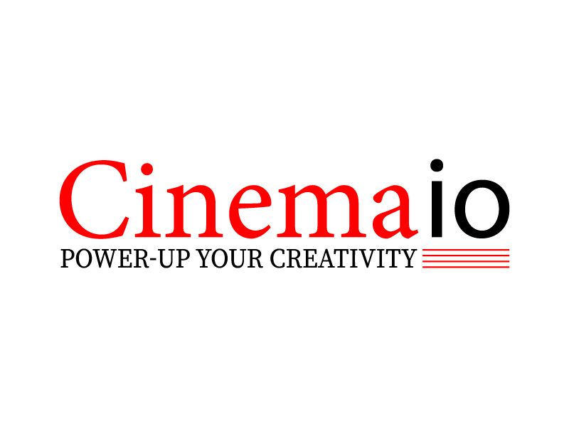 Cinemaio logo design by Shailesh