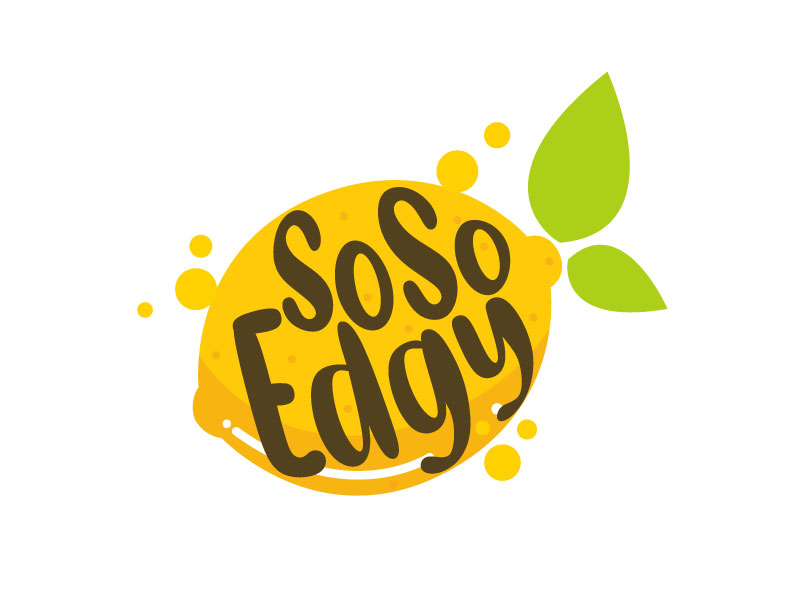 SoSoEdgy logo design by LogoInvent