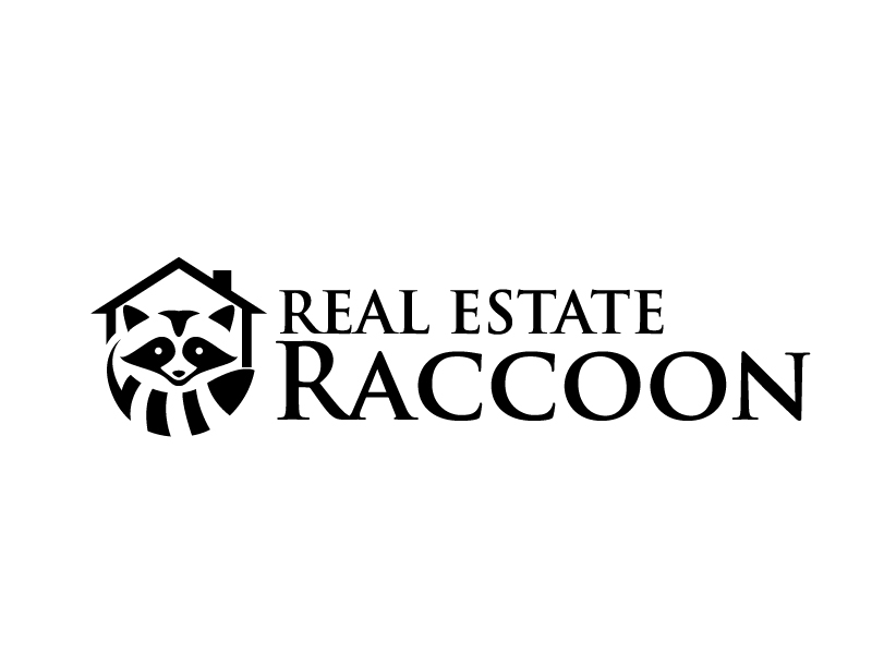 Real Estate Raccoon logo design by jaize