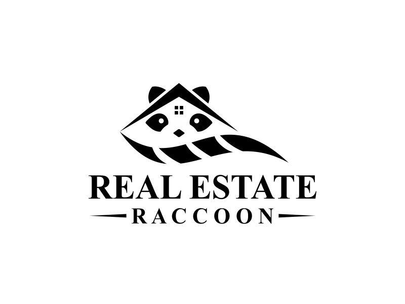 Real Estate Raccoon logo design by alfais