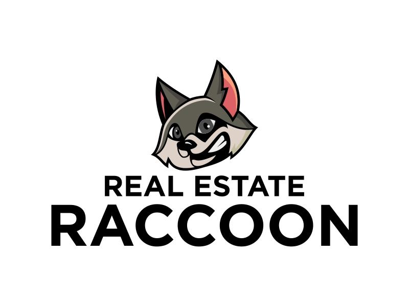 Real Estate Raccoon logo design by Kruger