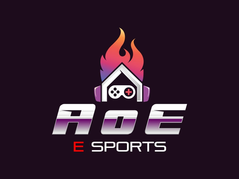 AoE Esports logo design by Dhieko